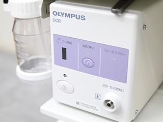 炭酸ガス送気で、検査後のお腹の張りを軽減