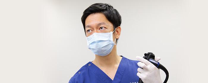 経験豊富な内視鏡専門医による丁寧な診療